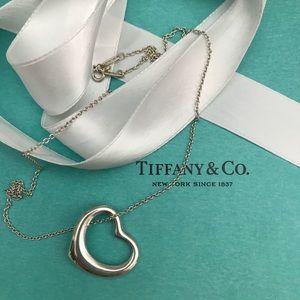 Tiffany Elsa Peretti Open Heart